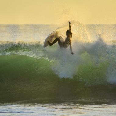Torneo de Surf The Backyard Playa Hermosa, Costa Rica