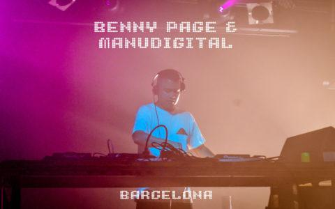 Benny Page y Manudigital en Barcelona