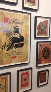 Shepard Fairey OBEY Exhibition