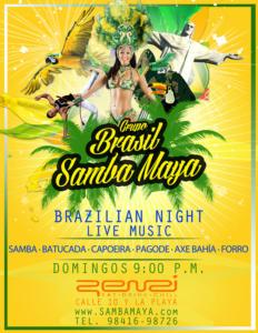 Brasil Samba MayaPlaya del Carmen, Mexico